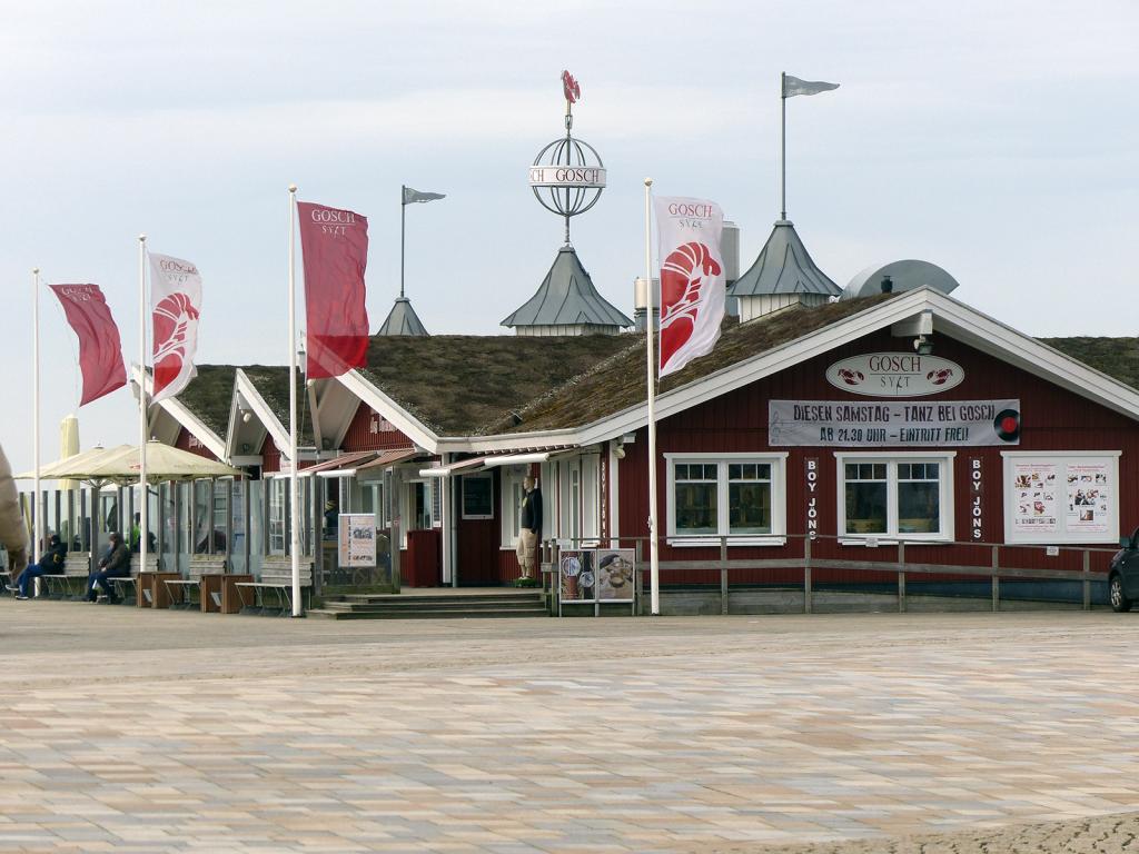 Gosch Restaurant am Strandübergang im Bad